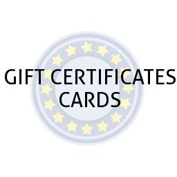 GIFT CERTIFICATES CARDS