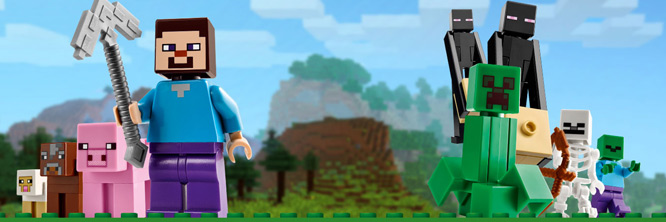 Shop our LEGO Minecraft department - Out of This World Toys ...
